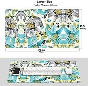 amazoncom watercolor lily anti slip mouse pad office
