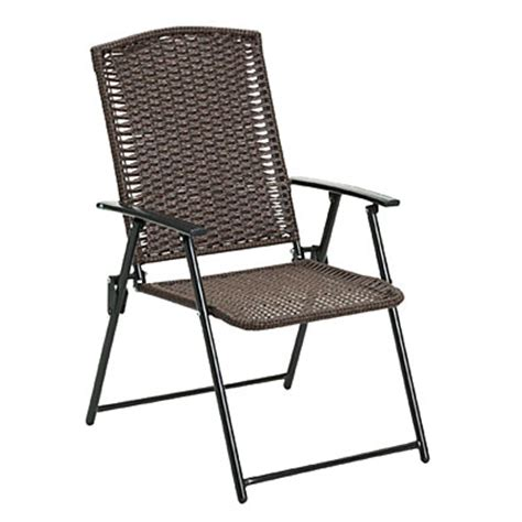 big lots folding chairs view wilson fisher 174 resin wicker folding chair deals at