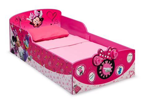 Minnie Mouse Baby Bed by Minnie Mouse Interactive Wood Toddler Bed Delta Children