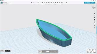 123d design a guide to building a boat in 123d design