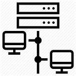 Network Local Lan Icon Server Area Networking