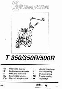 T 500r Manuals