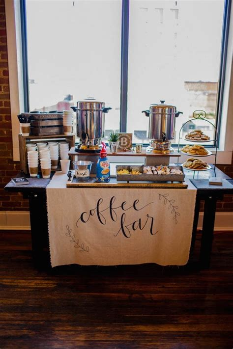 13+ adorable diy coffee bar ideas for your cozy home. 20 Great Wedding Food Station Ideas for Your Reception - EmmaLovesWeddings