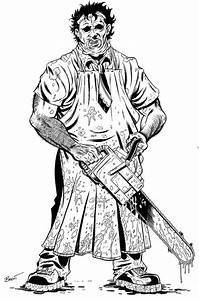 leatherface coloring pages - Google Search   Coloring ...