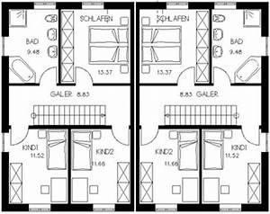 Doppelhaus Grundriss Beispiele : 30 besten grundriss doppelhaus bilder auf pinterest ~ Lizthompson.info Haus und Dekorationen
