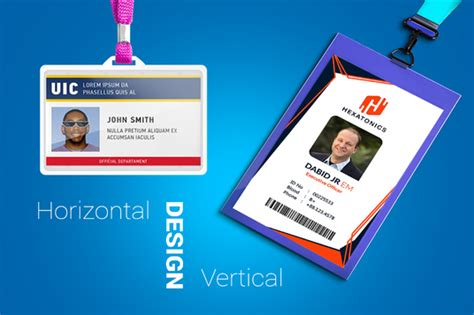 design professional id card  seal