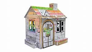 Cabane En Carton À Colorier : maison en carton ~ Melissatoandfro.com Idées de Décoration