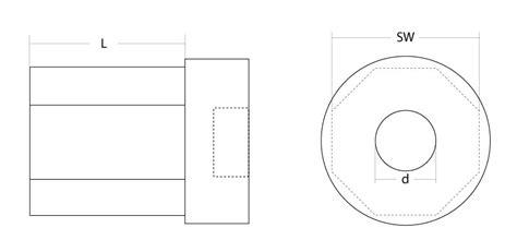 steckdosen maße bohrung mini walzenkapsel sw 40 l 228 nge 70 mm mit aufnahme f 252 r 28 mm kugellager und gurtsteckscheibe