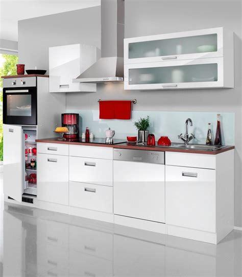 Küchenzeile Mit Elektrogeräten by K 252 Chenzeile 187 Fulda 171 Breite 280 Cm Mit Autarken