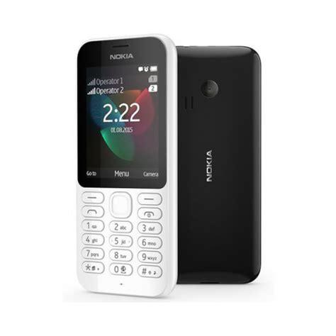 nokia  dual sim handy telefon tastenhandy weiss offen
