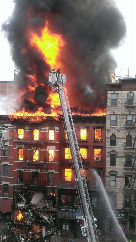 Gas Blast Causes Fiery Building Collapse | Jewish News ...