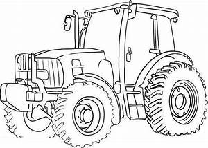 Free Tractor Coloring Pages Printable | Transportation ...