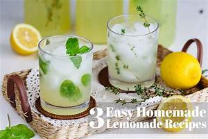3 Easy Homemade Lemonade Recipes  U2022 Just One Cookbook