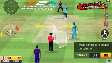 world cricket chionships 2 android hd gameplay