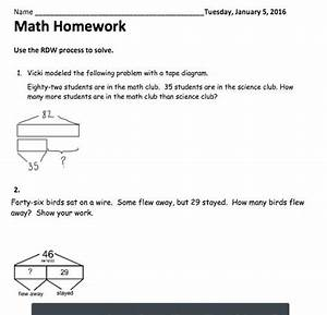 What Is A Tape Diagram In 2nd Grade Math