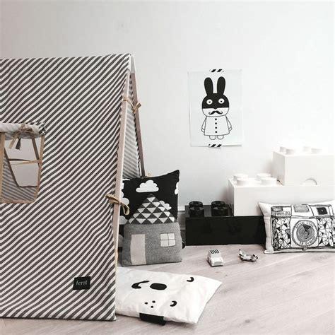 chambre noir et blanc design chambre enfant déco noir et blanc e interiorconcept