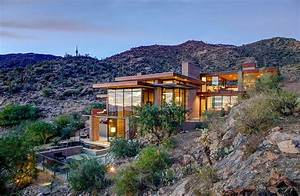 Mountain Home with Scenic Views by Kevin B Howard Architects