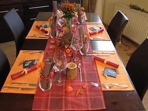 Herbst Dekoration Tisch : h bsche tischdeko ideen f r den herbst ~ Frokenaadalensverden.com Haus und Dekorationen