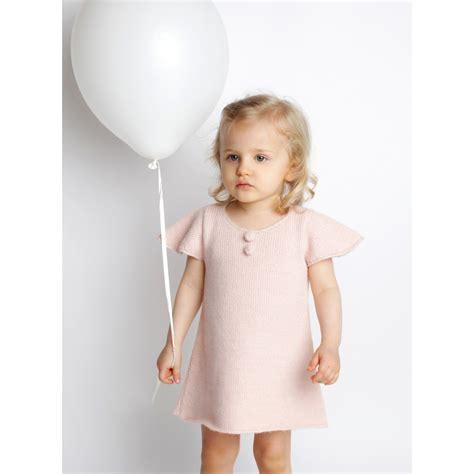 les tricots de mamy robe enfant b 233 b 233 fille pastel tricot 233 par mamy avec d alpaga