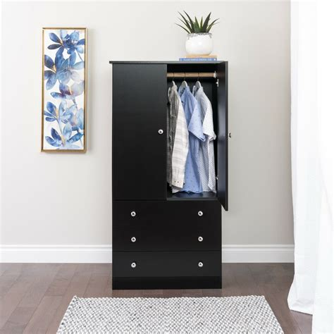 Wardrobe Cabinet With Drawers by Juvenile Wardrobe With Three Drawers 3 Finishes Ebay