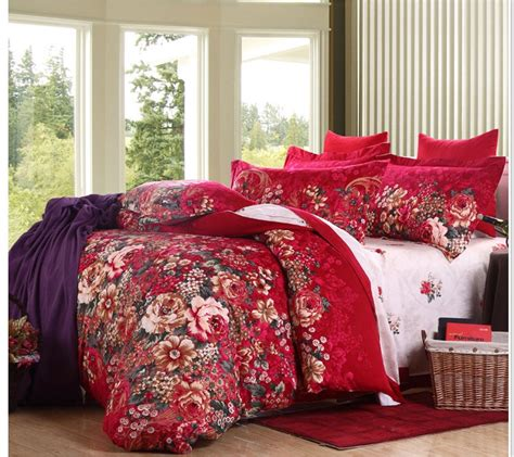 Beautiful Bed Cover Sets by Luxury Beautiful Flower Design Duvet Cover King Size
