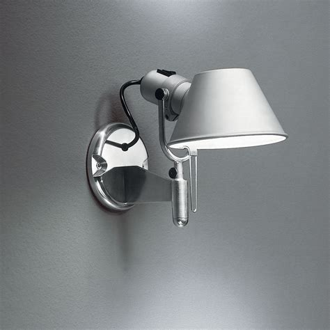 tolomeo classic wall spot with switch by artemide a029258