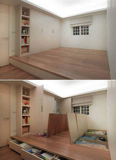 creative clever space saving ideas   enlargen
