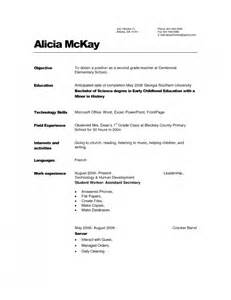 resume sle for preschool assistant the child care resume objective resume format web