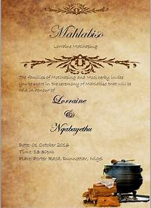 zihlobo umndeni wakwadlamini seeba pinterest With xhosa traditional wedding invitations