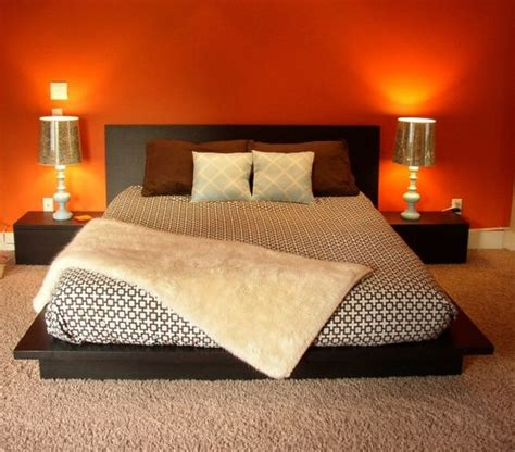 8 orange painted bedrooms you ll love to dream in
