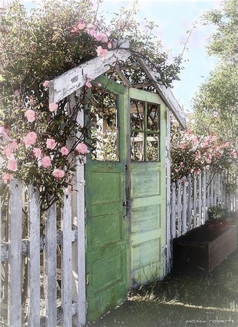 rawd iron railing insanely beautiful diy upcycled garden gates that you will simply adore