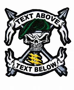 The gallery for --> Green Beret Skull Logo