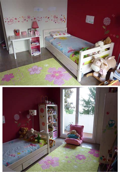 deco chambre fille 6 ans lit mezzanine enfant 7 ans flexa e zabel maman