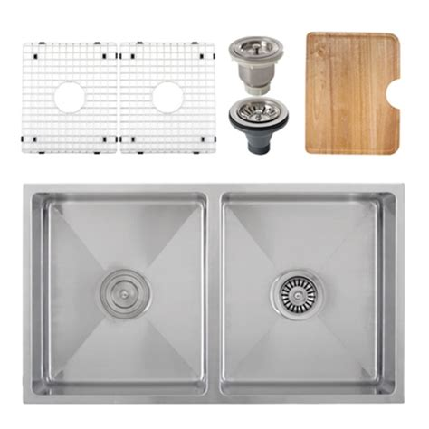 kitchen sink stopped up 30 inch undermount single bowl 16 gauge stainless steel