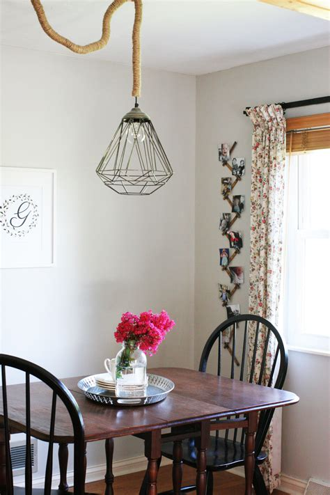 kitchen nook lighting diy rope cord cover in 30 minutes craftivity designs