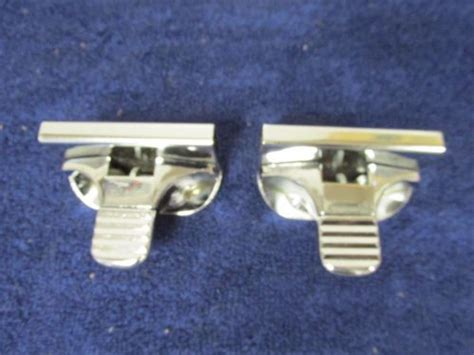find  ford ranch wagon sliding glass window latches pair nos ford  motorcycle