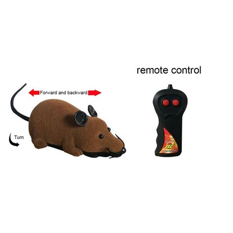Consumers are greatly attracted to things with great visual design. Pet Cat Remote Control Mock Fake Rat Mouse Mice RC Funny ...
