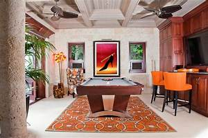 las vegas pool table by mitchell pool tables tropical With tropical home bar furniture