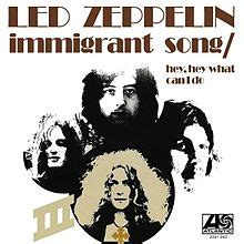 Immigrant Song Cover immigrant song wikipedia