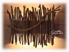 Applique Murale Bois Flotté : simple applique murale bois flott affordable suspension bois for fabriquer applique murale bois ~ Teatrodelosmanantiales.com Idées de Décoration