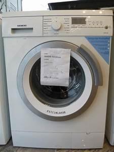 Siemens Waschmaschine 1600 : siemens extraklasse waschmaschine in mannheim ~ Michelbontemps.com Haus und Dekorationen