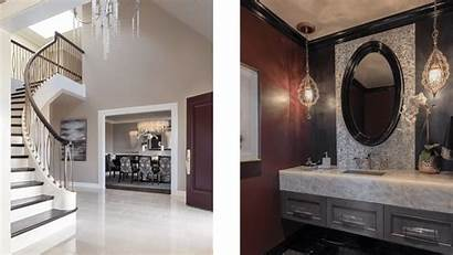 Glamour Modern Bathroom Guest Transitional Saratoga Entry