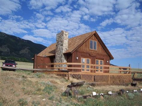 remote cabins for remote cabins wyoming real estate listings boat