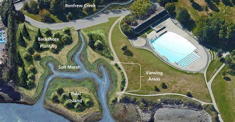 brighton park shoreline habitat restoration project