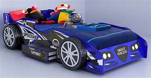 Creative Race Car Beds For Toddlers