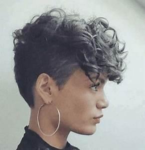 Coupe Courte Cheveux Bouclés : coupe courte cheveux boucl s femme 2018 extension ~ Melissatoandfro.com Idées de Décoration