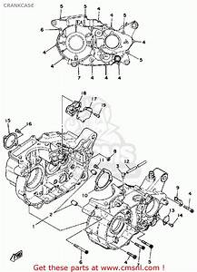 Yamaha Sr500h 1981 Crankcase
