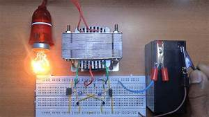 How To Make A Inverter 12v To 220v