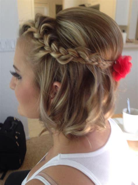 pretty braided hairstyles  short hair pretty designs