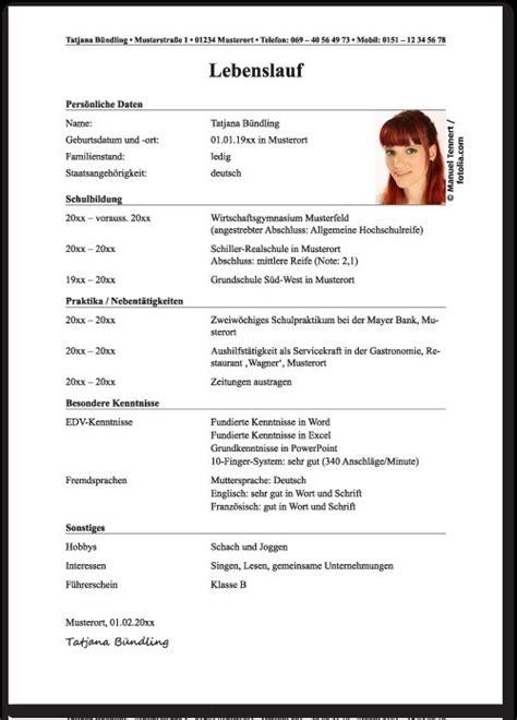 Lebenslauf Uni Bewerbung by 15 Tabellarischer Lebenslauf Studium Lebenslauf